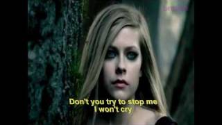 Alice -[OFFICIAL VIDEO] lyric - Avril Lavigne