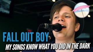 Fall Out Boy - My Songs Know What You Did In The Dark (Light Em Up) (Live at the Edge)