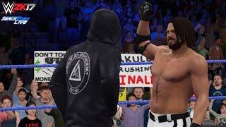 WWE 2K17 Dream Feuds: CM Punk confronts AJ Styles! (Custom Scenario) - PC Mods