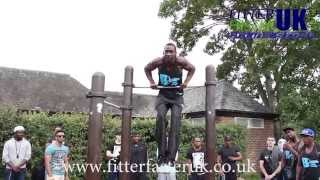 Calisthenics Bristol Bar Crew @ Pure Barz Bar Jam Primrose Hill 2014