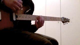 Whitesnake - Still of the night guitar solo cover
