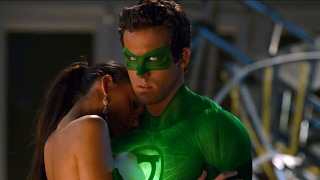 Hal saves Carol  | Green Lantern