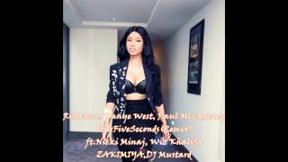 Rihanna,Kanye,Paul - FourFiveSeconds (Remix) ft.Nicki Minaj, Wiz Khalifa, DJ Mustard
