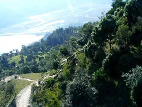 Para Gliding in Nepal
