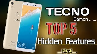Top 5 TECNO camon hidden features for all tecon phone by Mkfact Official width=