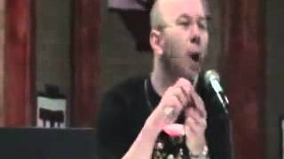 Voice Actor Chris Sabat rapping  Mama said knock you out