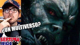 Morbius (tráiler) - reacción y opinón - ¿Se vienen cross-overs con el UCM?   QR