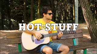 Hot Stuff - Donna Summer (INSTRUMENTAL Fingerstyle guitar cover)