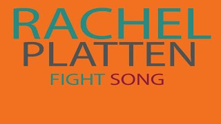 Rachel Platten - Fight Song Lyrics (Kinetic Typography) Video