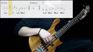 Stone Temple Pilots - Interstate Love Song (Bass Cover) (Play Along Tabs In Video)