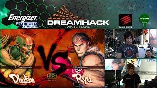MCZ.Daigo Umehara (Ryu) vs DRz.Yagami (Dhalsim) - DHW13 RO32