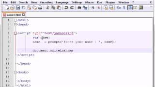 JavaScript Fundamentals 6 - Prompt Box