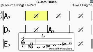 C Jam Blues - Eb