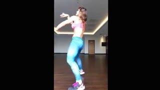 Palearnos Un Ratico by Divan. Freestyle reaggeton by Sandra Radav