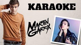 Martin Garrix - Scared To Be Lonely - LYRICS - KARAOKE - Instrumental - Piano