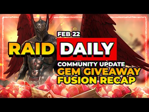 GEM GIVEAWAY! | Weekly Kickoff! | RAID Shadow Legends
