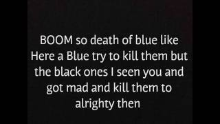 talking about death of blue