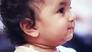 Cute baby with an awesome background music