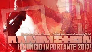 ¡Atención fanáticos de RAMMSTEIN, anuncio IMPORTANTE para los FANS! | Nathan Manson