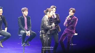 [HD Fancam] 181008 슈퍼주니어 SUPER JUNIOR ONE MORE TIME MINI SHOWCASE - 은해 EUNHAE SEXY DANCE