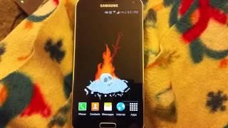 Dark Souls 2 Bonfire Galaxy S5 Live Wallpaper