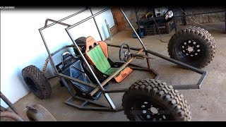 Gaiola Cross 500cc 52CV- Construção  01