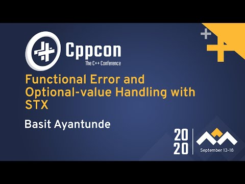 Functional Error and Optional-value Handling with STX