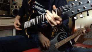 Heavy Violence - Naruto ( Guitar & Bass Cover + Tab )