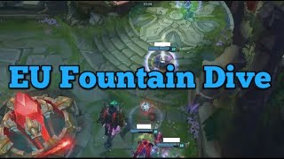 [Spoiler] EU Fountain Dive For Pentakill - 2017 EU LCS Summer W2
