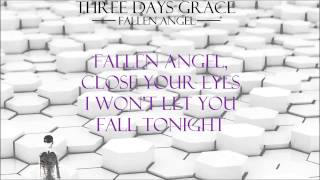 Three Days Grace - Fallen Angel (Lyrics) *New Album*