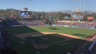 Vin Scully Says Final Goodbye To Dodger Stadium, Sings Wind Beneath My Wings