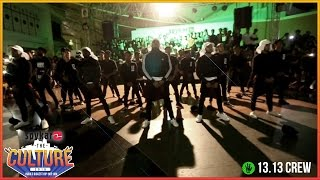 BEST DANCE CREW OF INDIA - 13.13 Crew Best Performance at Spykar The Culture'16 - Ft 13 Fam