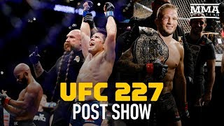 UFC 227 Post-Fight Show - MMA Fighting width=