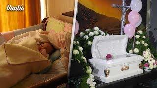 Madre compró una cuna usada para su bebé y 2 días después falleció