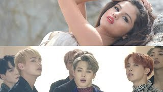 COME GET BLOOD SWEAT & TEARS - BTS & Selena Gomez (Mashup MV)