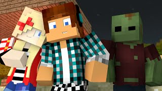 Minecraft Animado #01 : O ZUMBI AMIGO !! ( Minecraft Animation )