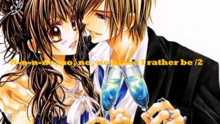 Nightcore - Rather Be (Lyrics + Traduction)
