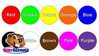 """""""La Canción de los Colores"""" CLIP – Aprender los colores en inglés, Canción para aprender los colores width="""