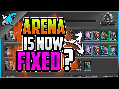 THE ARENA IS *FIXED* !?! | No more Missions Paywall !? | RAID: Shadow Legends