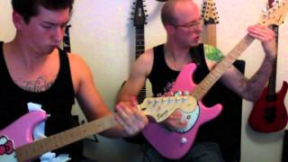 Hello Kitty Guitar Squad - Arms Of Sorrow Guitar Cover