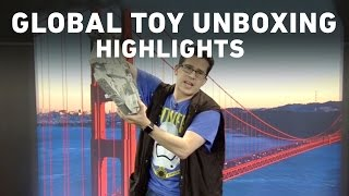 Star Wars: The Force Awakens Global Toy Unboxing Live Stream Highlights