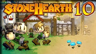 Planning Problems – Stonehearth 1.1 Gameplay – [Stream VOD] Part 10