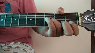 How to play happy birthday tune on guitar