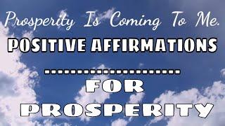 Prosperity Meditation | POSITIVE Affirmations For 2017 | Manifesting 2017 💞💖💖