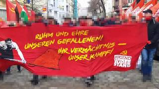 LLL-Demonstration und Märtyrersponti in Neukölln 2018