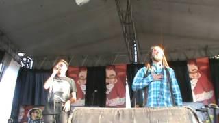 Jah Fabio & Jah Nattoh en Reggae Live Festiva 2017