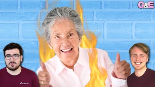 I Almost Set My Grandma On Fire - The Gus & Eddy Podcast