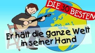 Er hält die ganze Welt - Die besten Kirchenlieder für Kinder || Kinderlieder