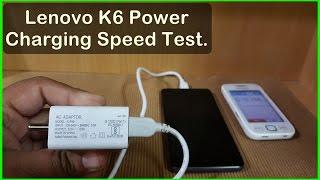 Lenovo K6 Power Charging Speed Test : 4000 mah 😮😱 width=