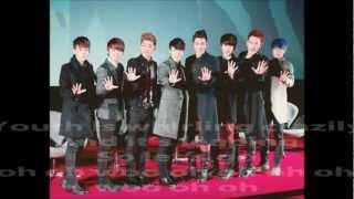 A-Oh! Super Junior-M Lyrics [Eng Sub]